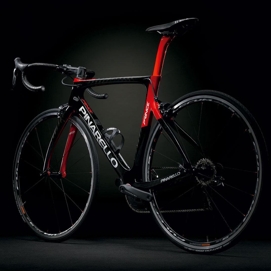 Pinarello-PRINCE-715---Carbono-Rojo